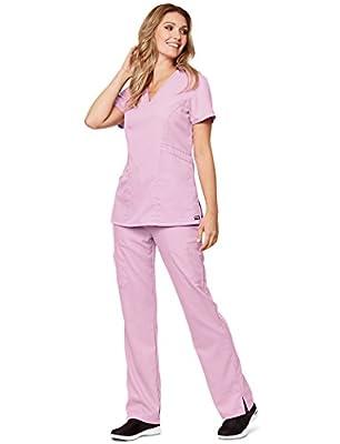 Grey's Anatomy 41452 Women's V-Neck Solid Scrub Top