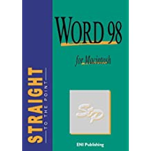 Word 98 for Macintosh Eng Str.poi