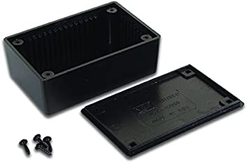 Velleman WCAH2855 - Caja (Negro, De plástico, 85 mm, 55 mm, 30 mm)