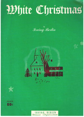White Sheet Music Christmas (White Christmas)