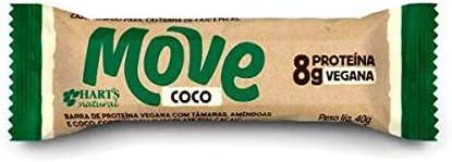 Barra de Proteína Vegana Move Coco Hart's Natural 40g por Hart's Natural