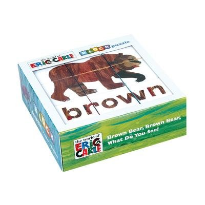 The World of Eric Carle Block Puzzle[ERIC CARLE BROWN BEAR BROWN BE][Other]