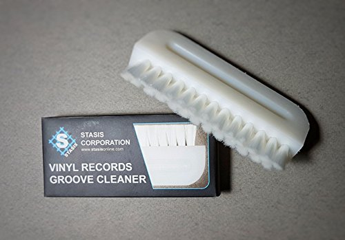 Stasis Corporation Groove Cleaner Wet / Dry Record Cleaning Brush (Record Wet Brush)