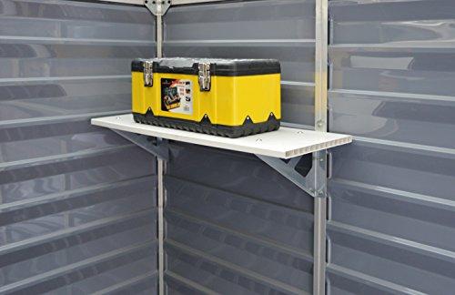 Palram Skylight Shelf Kit, Tan by Palram (Image #4)