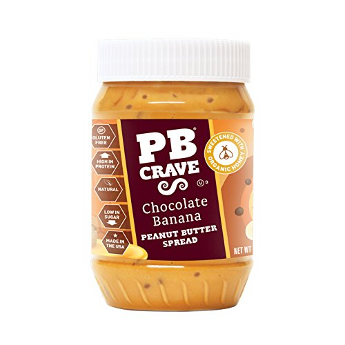 PB Crave Peanut Butter, Coco Banana Premium, 16 (Peanut Butter Banana Honey)