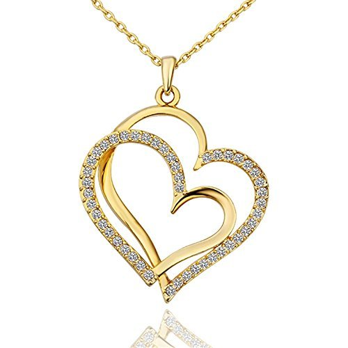 Dilan (Gold Necklace Heart)