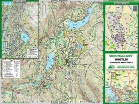 Green Trails Maps, Whistler 92J1S