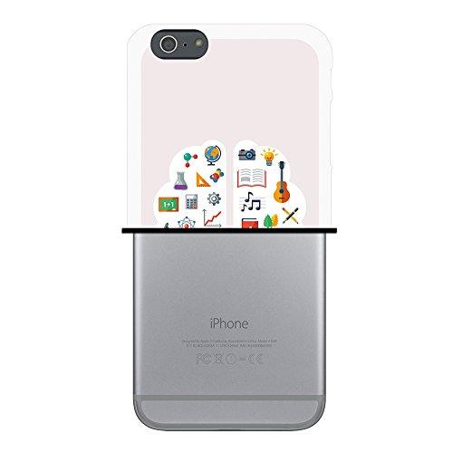 WoowCase Hülle Case für { iPhone 6 Plus 6S Plus } Handy Cover Schutzhülle Wissenschaft zum Schulbeginn