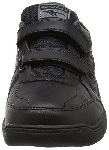 noir De Hommes Chaussures Gola Noir Belmont Velcro Bb Air Fitness En Plein SwvxpBfv