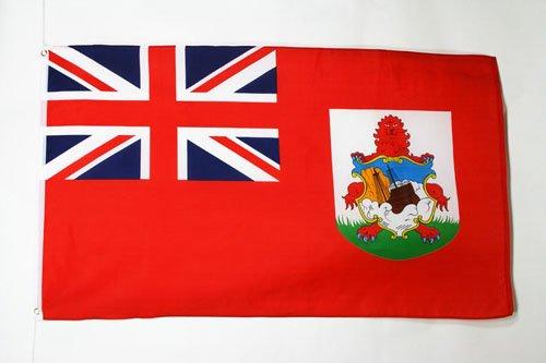 AZ FLAG Bermuda Flag 3' x 5' - Bermudian Flags 90 x 150 cm - Banner 3x5 ft