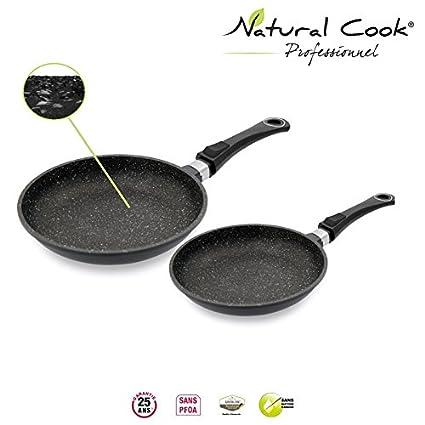 Natural Cook by Stove - Juego de sartenes