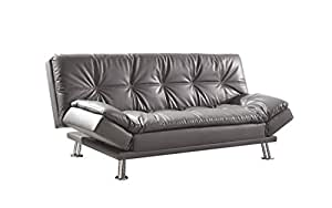 Coaster 500096 Home Furnishings Sofa Bed, Grey