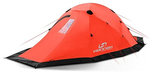 Hannah EXPED., Extreme Series tent, 2 person, Mandarin Red by Hannah Outdoor Equipment