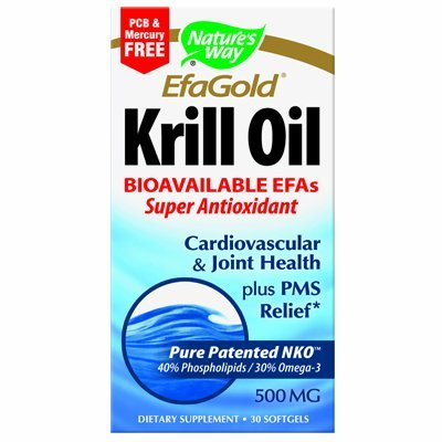 Natures Way EfaGold Krill Oil Softgels by Nature