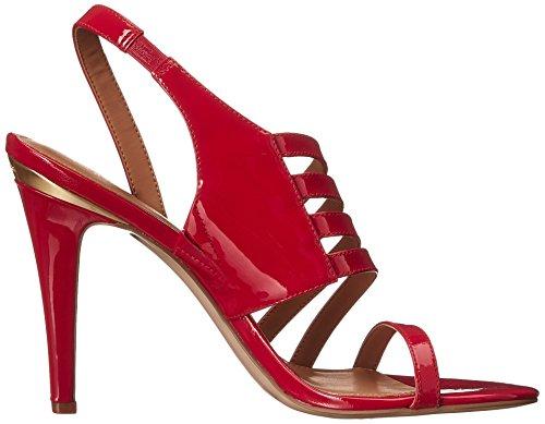 8 US Dress Sandal M Red Women's Coral Calvin Mirian Lipstick Deep Klein qwaIzn0