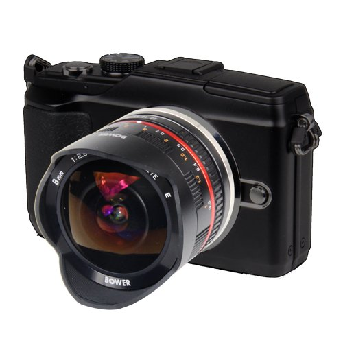 41C9JTbwgEL - Bower Camera SLY288NXB Ultra-Wide 8mm f/2.8 Fisheye Lens for Samsung NX Digital