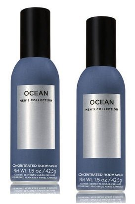 Bath and Body Works 2 Pack Ocean Concentrated Room Spray. 1.5 Oz.