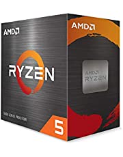 AMD Ryzen 5 5600X 6-core, 12-Thread Unlocked Desktop Processor with Wraith Stealth Cooler