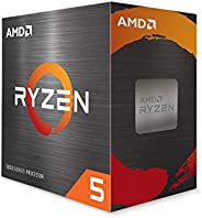 Processador AMD Ryzen 5 5600X 3.7GHz (4.6GHz Max Turbo) AM4