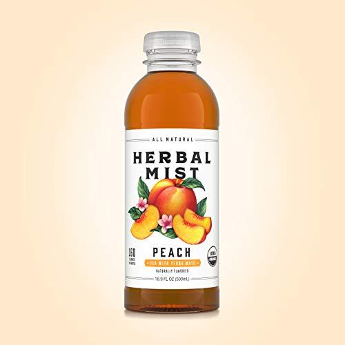 Herbal Mist 100% Natural Iced Tea and Yerba Mate (Peach)
