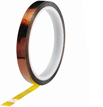 Amazon Com 10mm Width Heat Resistant High Temperature Adhesive Kapton Tape 2pcs Office Products