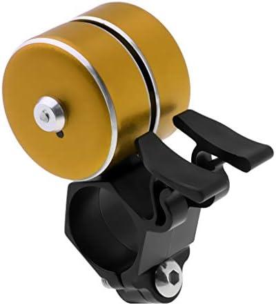 T TOOYFUL 自転車 ハンドルベル バイクベル サウンドベル 外径22mm-24mmハンドルバーに適用