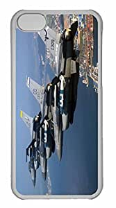 iPhone 5C Case, Personalized Custom War Airplane 94 for iPhone 5C PC Clear Case