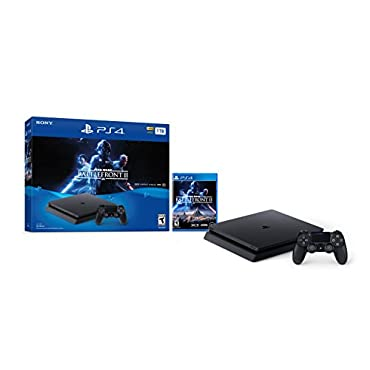 PlayStation 4 Slim 1TB Console Star Wars Battlefront II Bundle