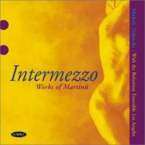 Intermezzo: Works of Martinu