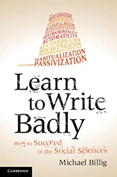 Learn to Write Badly by [Billig, Michael]