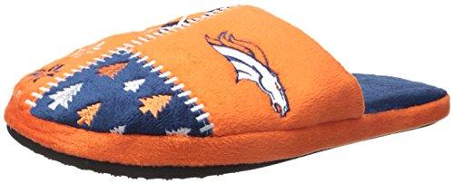 FOCO Denver Broncos Ugly Slide Slipper Large by FOCO