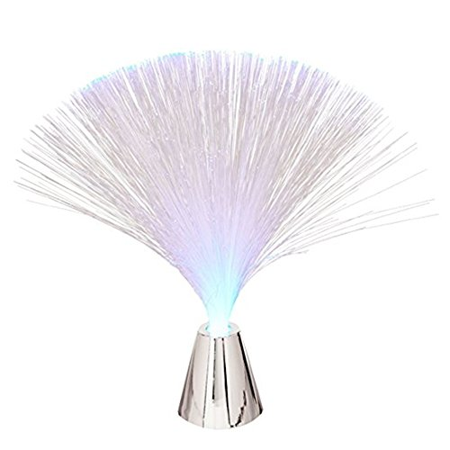 INSFIRE 2Pcs LED Multicolor Changing Fiber Optic Fountain Night light Calming Lamp For Wedding Christmas Party Holiday by INSFIRE (Image #4)