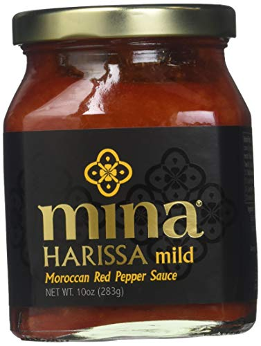 Mina Harissa Moroccan Red Pepper Sauce, Mild, 10 Oz (Pack of 2) ()