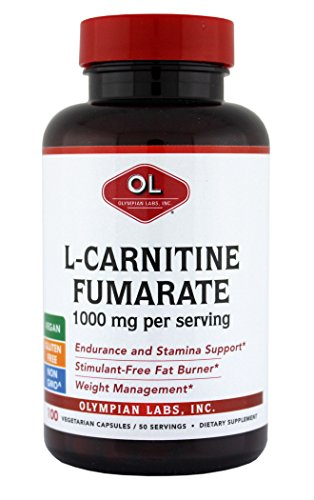 Olympian Labs LCarnitineFumerate, 1000mg,100 Caps
