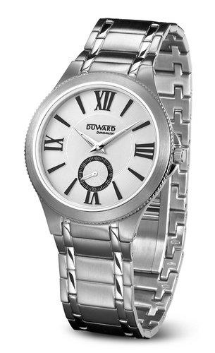 Duward D95600.01 - Reloj de caballero de cuarzo, cadena en acero: Amazon.es: Relojes