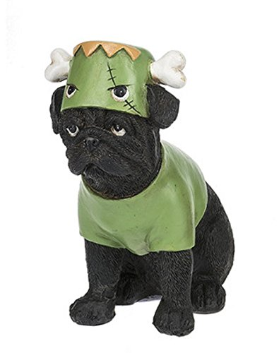 Costume Canine Dog Halloween Polystone 5 Inch Tabletop Figurine, (Halloween Home Decorations Pinterest)