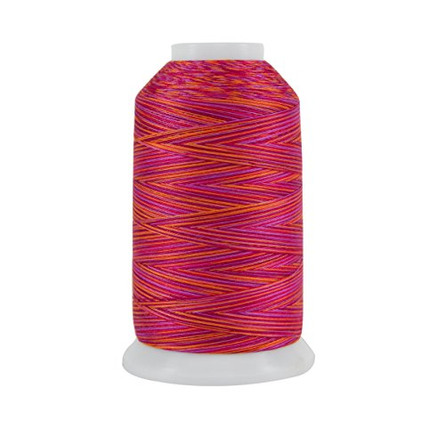 Superior Threads 121029XX914 Ramses Red 3-Ply 40W King TUT Cotton Quilting Thread, 2000 yd