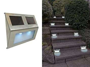 Good Ideas 1448 - Luces solares para escalera, cubiertas, muelles, senderos y buzones: Amazon.es: Jardín