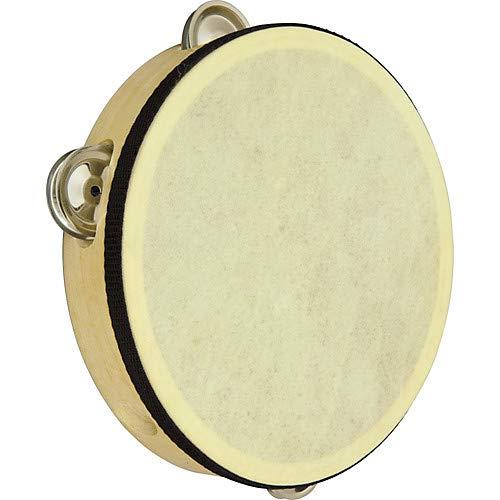 Wood Rim Tambourine Pack of 3