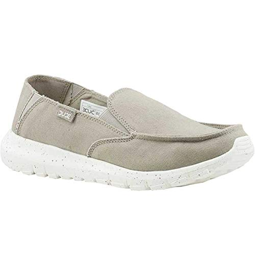 Hey Dude Women's Ava Loafer's Grey White