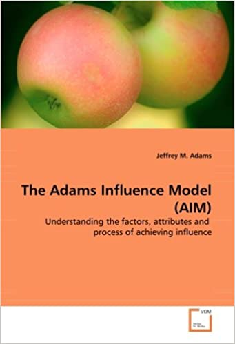 The Adams Influence Model (AIM): Understanding the factors, attributes andprocess of achieving influence