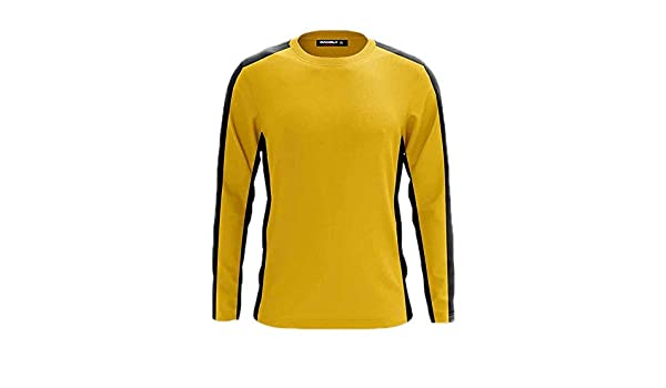 Bruce Lee Camisetas de Manga Larga Amarillas clásicas ...