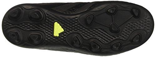 adidas Ace 16.4 Fxg, Botas de Fútbol para Niños Negro (Core Black /         Core Black /         Solar Yellow)