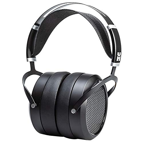 HIFIMAN HE6se Full-Size Over Ear Planar Magnetic Audiophile Adjustable Headphone with Comfortable Earpads Open-Back Design Easy Cable Swapping