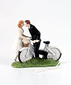 41C9PKSMjSL. SY300 QL70  Cake Toppers For Wedding Cakes Bride And Groom