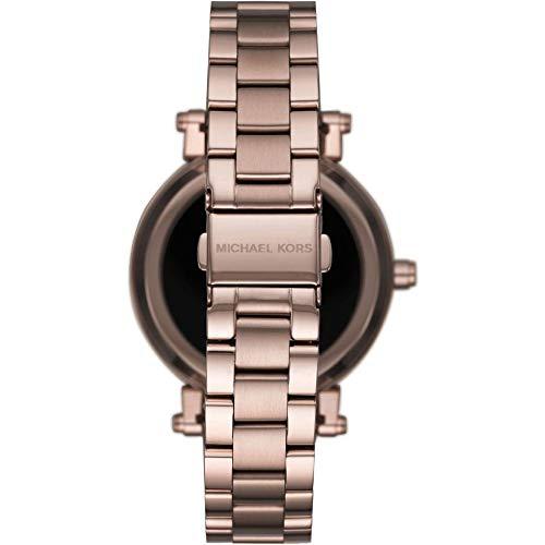Michael Kors Sofie Pavé Sable-Tone - Reloj Inteligente para Mujer MKT5030: Amazon.es: Relojes