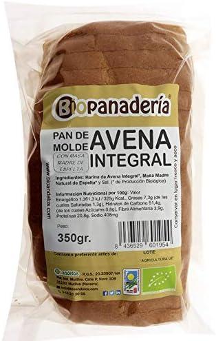 Biopanadería Pan de Molde de Avena Integral con Masa Madre de ...