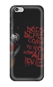 Best 2486100K55091476 Unique Design Iphone 6 Plus Durable Tpu Case Cover The Joker