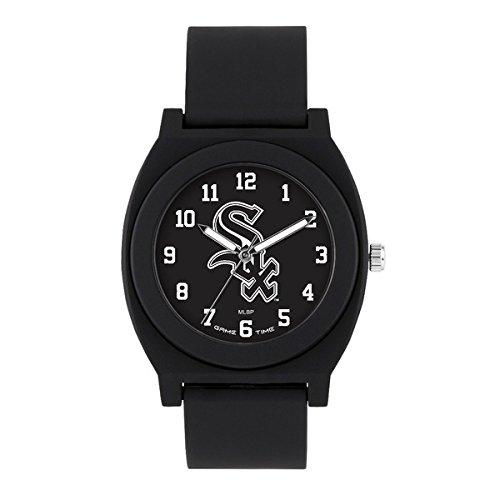 Game Watch White Sox Chicago (Chicago White Sox Fan Black Unisex Wrist Watch)