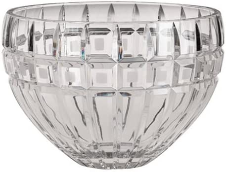 amazon com marquis by waterford quadrata 10 inch bowl waterford crystal bowls kitchen dining marquis by waterford quadrata 10 inch bowl